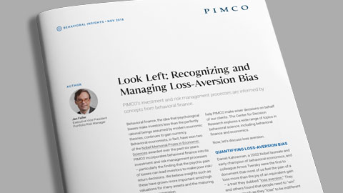Look Left: Recognizing and Managing Loss-Aversion Bias