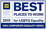 2019 Best Place to Work logo